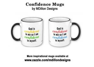 Confidence Mugs by MDillon Designs