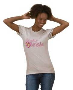 Happily Single Tee by MDillon Designs